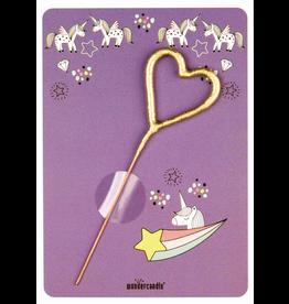Wondercandle Wondercandle  Mini Wondercard Unicorn lila