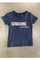 Name IT Name It T-shirt Dark Sapphire Blauw