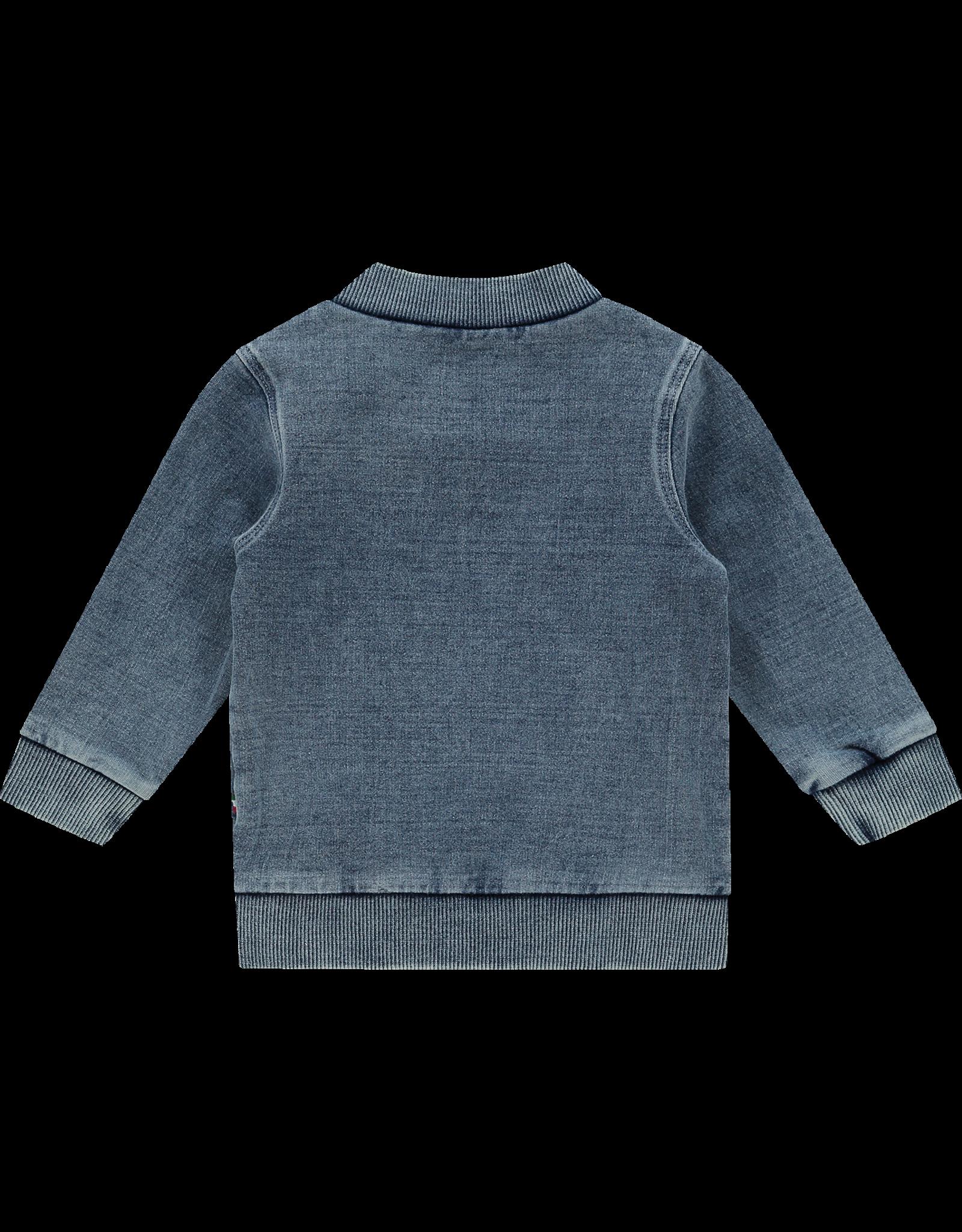 Vingino Vingino Vest Olivier Baby Mid Blue Wash