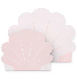 Jollein Jollein Speelkoffertje Shell Pale Pink (2 pack)