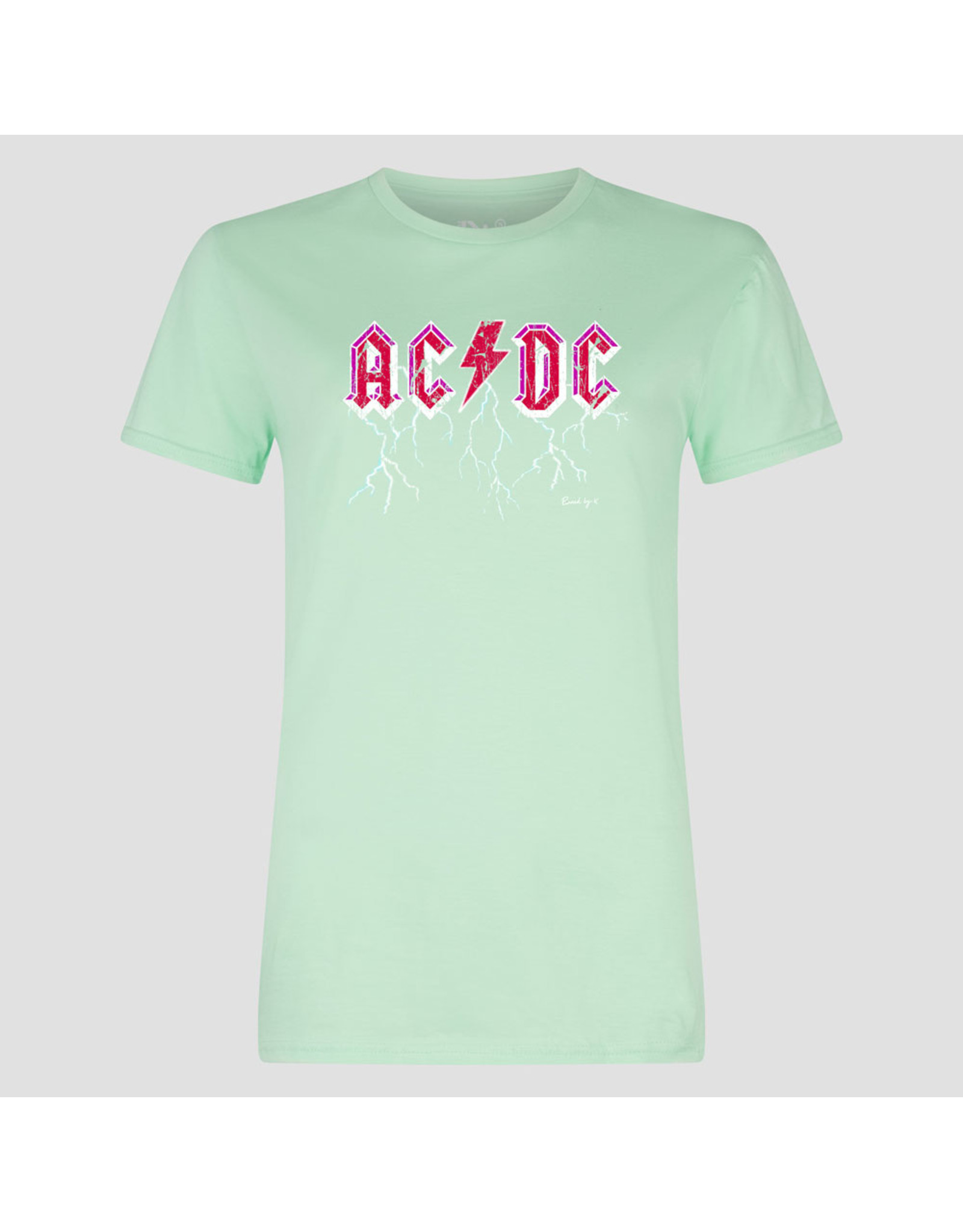 Pinned by K Pinned by K T-shirt Kids ACDC Lime green