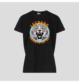 Pinned by K Pinned by K T-shirt Kids Leopard Legend Black