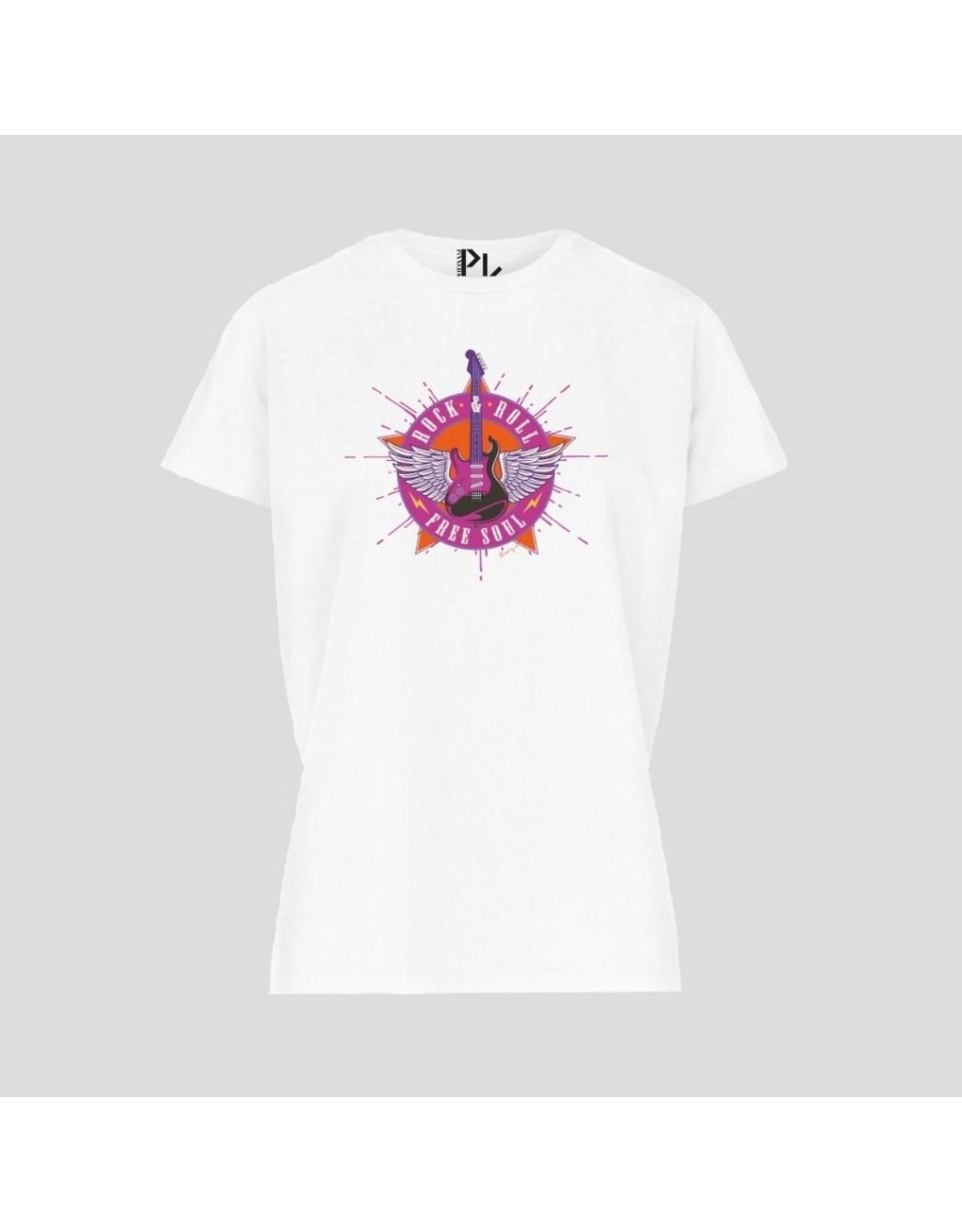 Pinned by K Pinned by K T-shirt Kids Basic White Gitaar