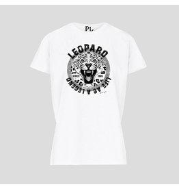 Pinned by K Pinned by K T-shirt Kids Leopard Legend White