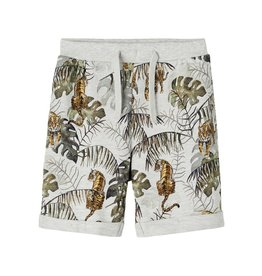 Name IT Name It Jake Light Sweat Long shorts UNB Light grey melange