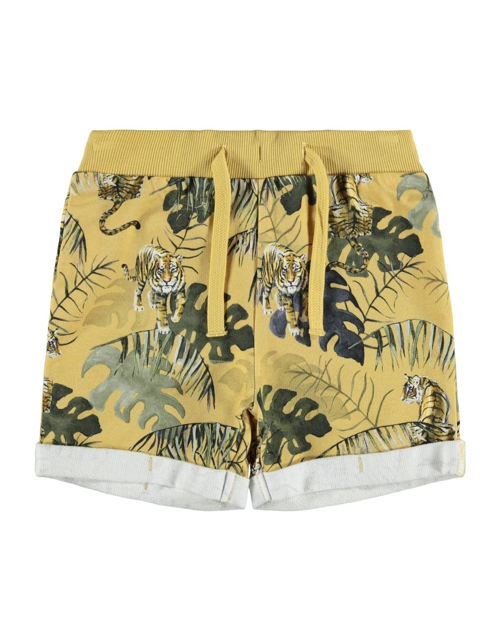 Name IT Name It Jake Light sweat long shorts UNB Fall Leaf