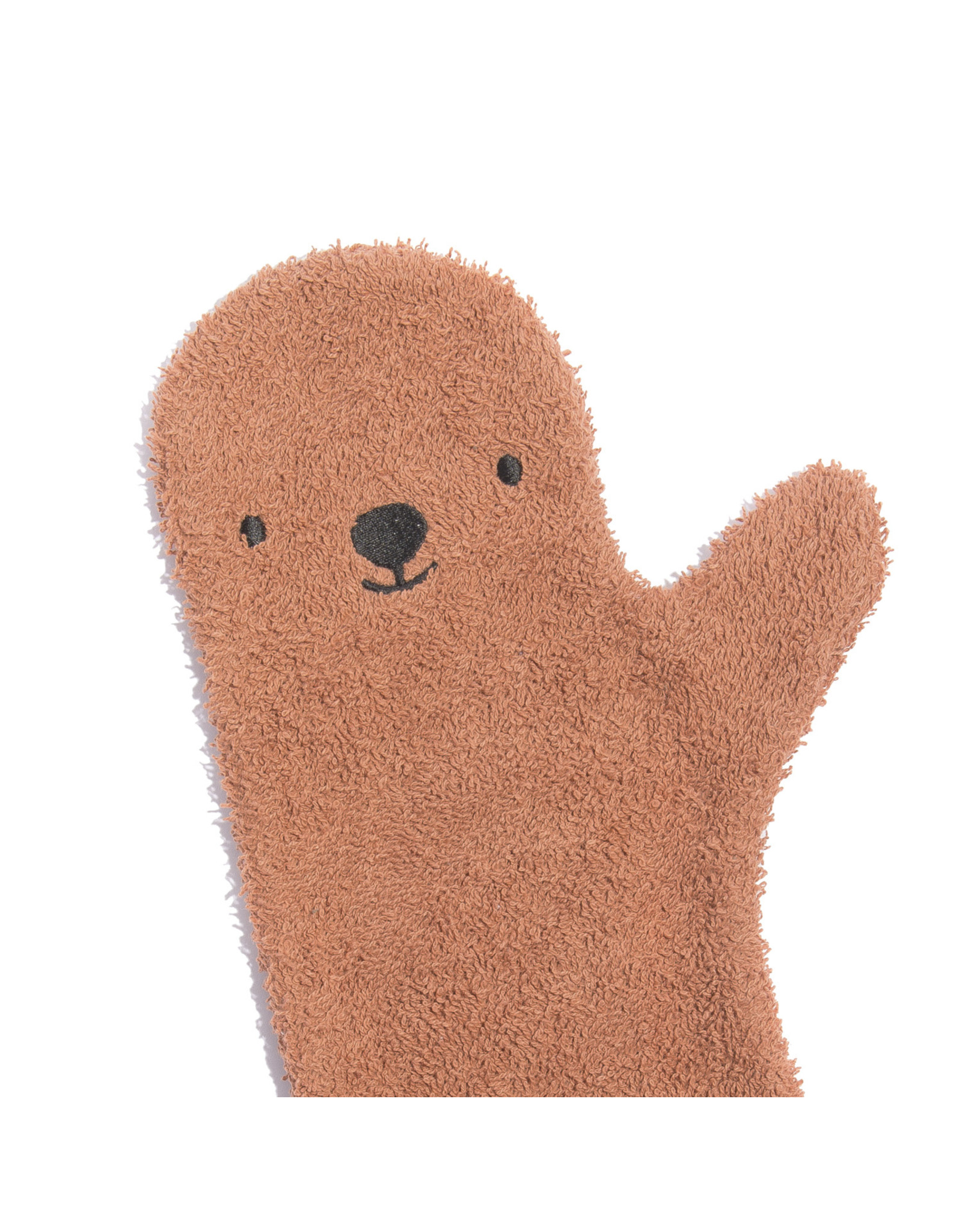 Invented for Kids Baby Showerglove Brown Bear