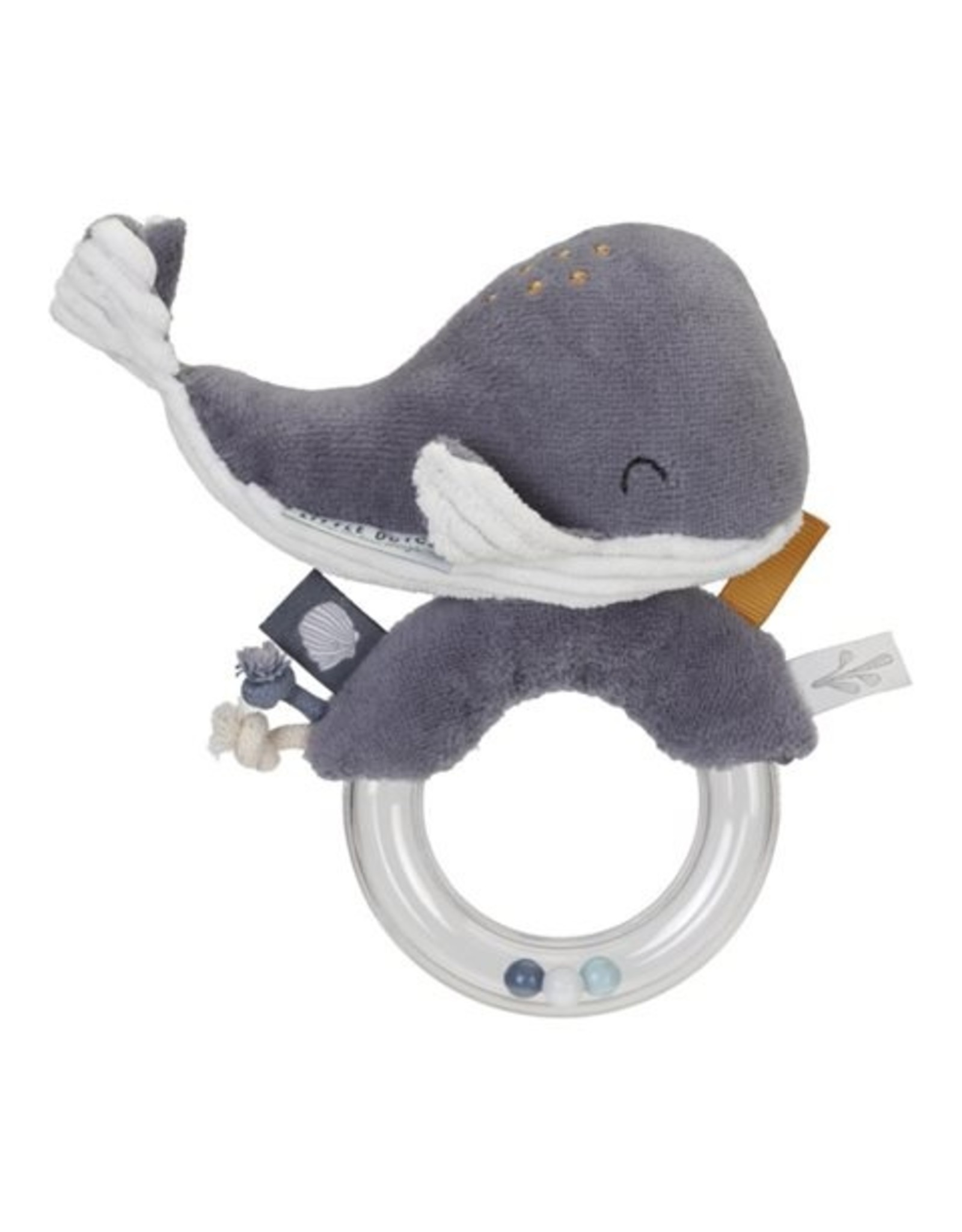 Little Dutch Litle Dutch Ringrammelaar Walvis Ocean Blue