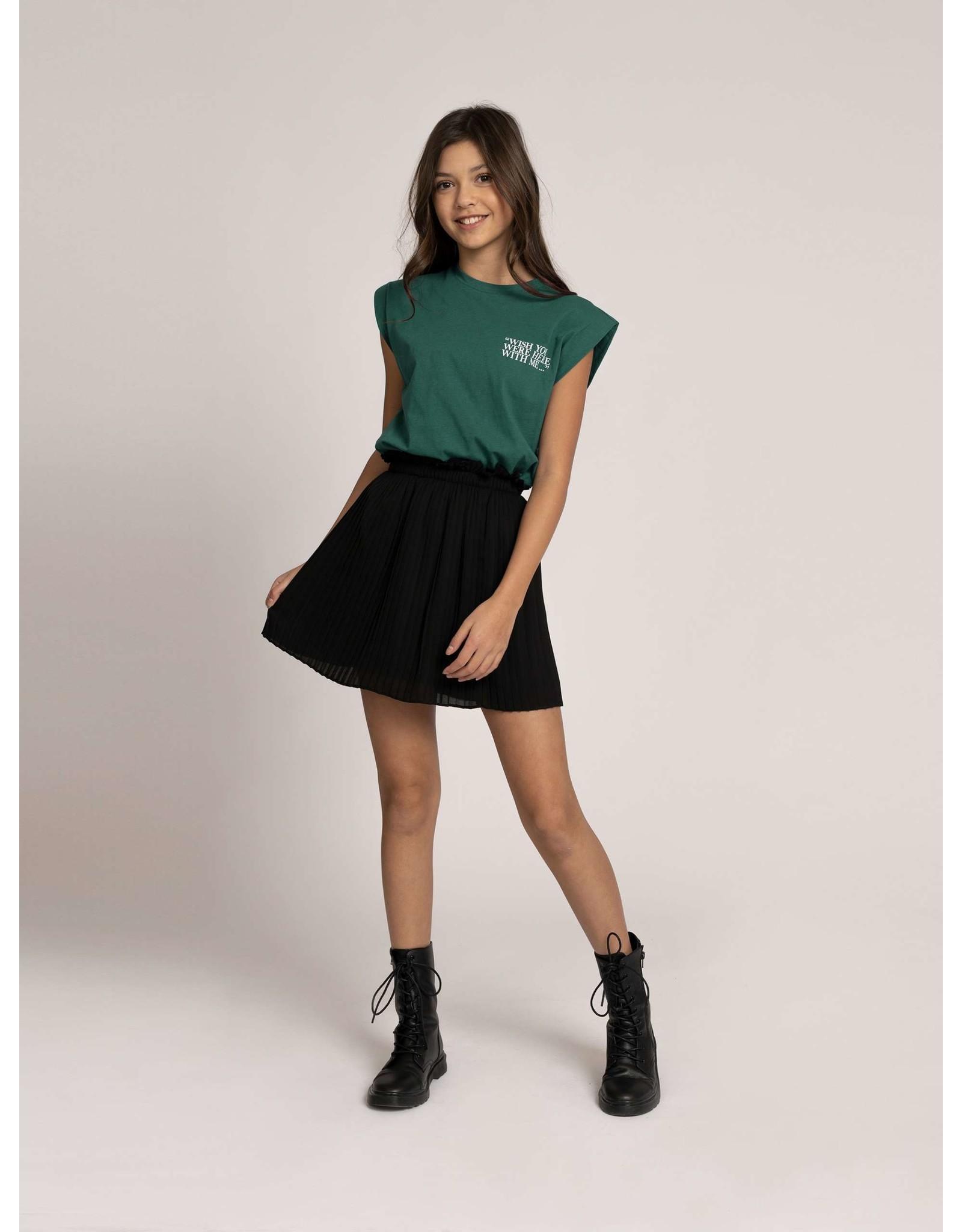 Nik&Nik NIK&NIK Wish You T-shirt Pine green