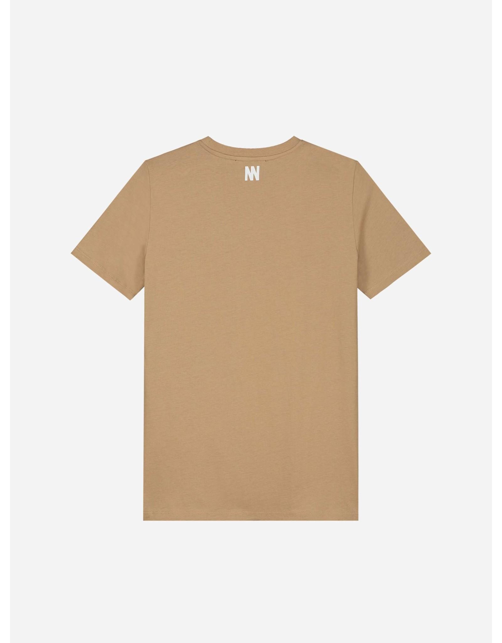 Nik&Nik NIK&NIK Wesley T-shirt Clay Beige