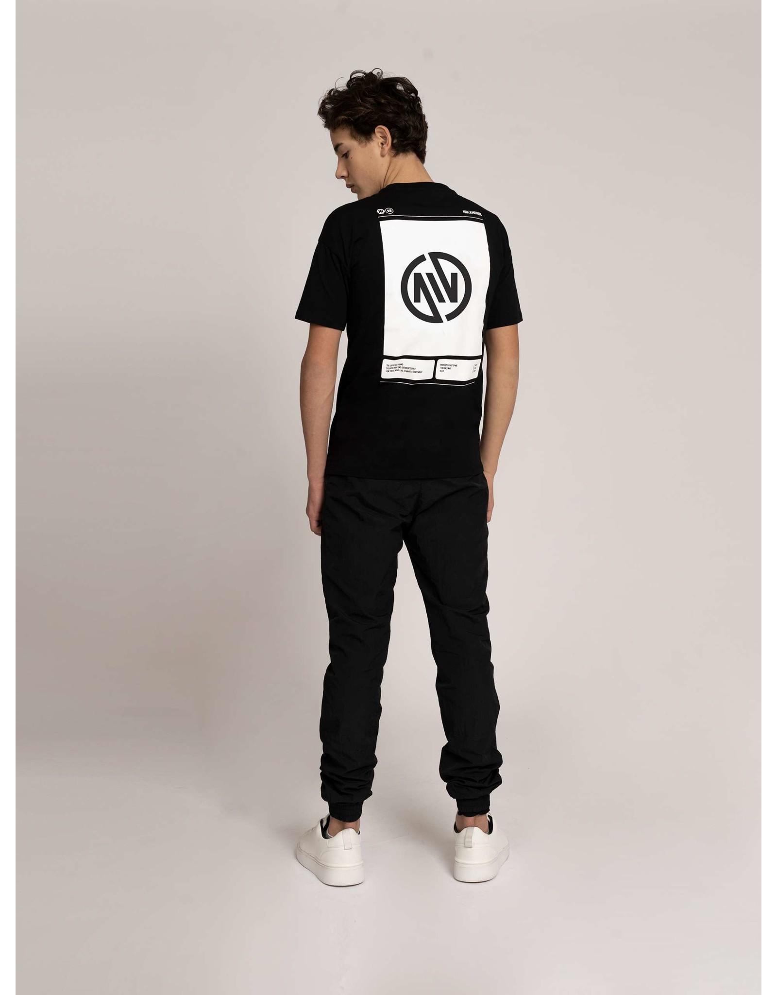 Nik&Nik NIK&NIK Wilmer T-shirt Black