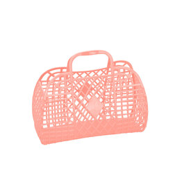 Sunjellies Sunjellies  Retro Basket - Small  Peach
