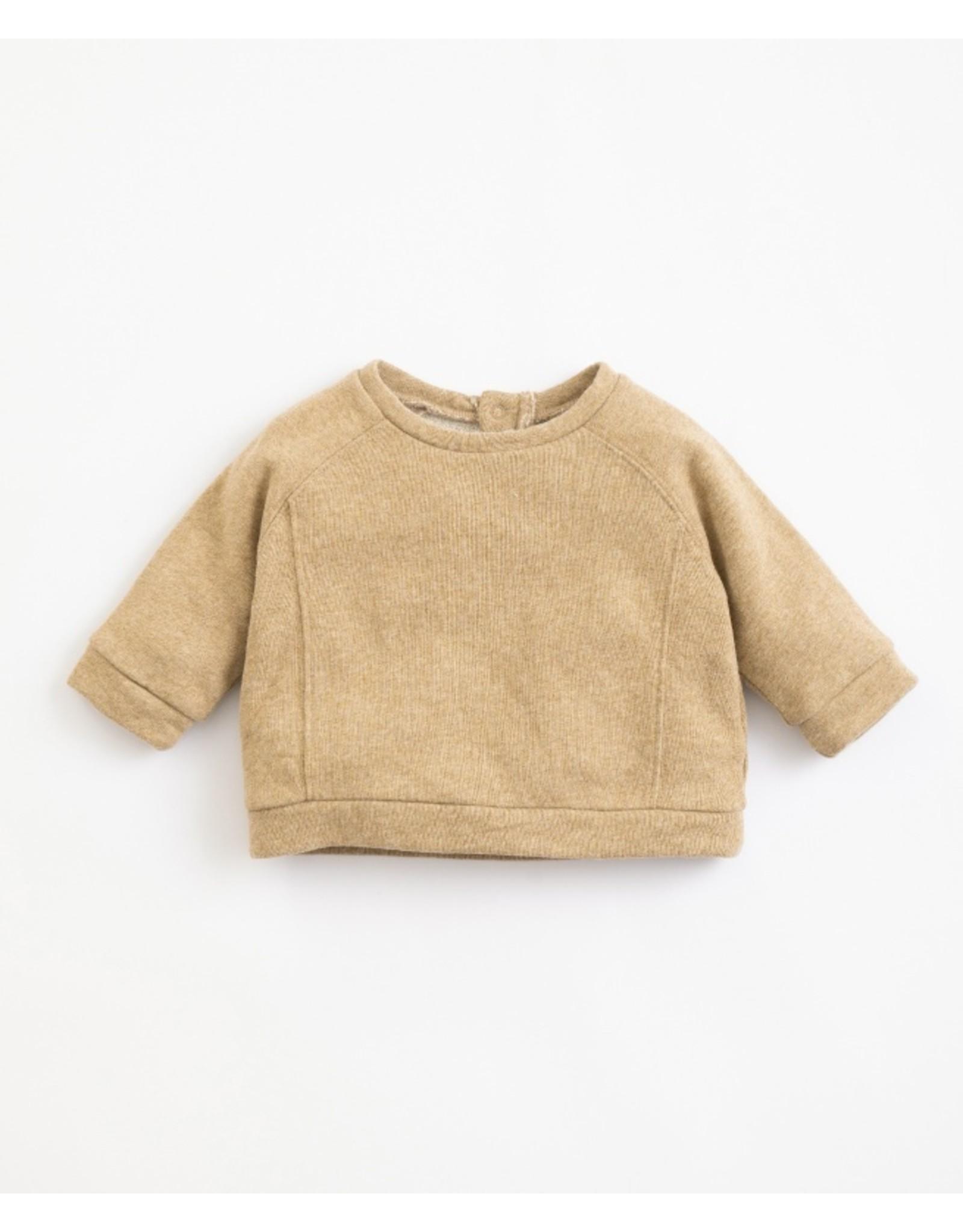 Play Up Play Up  paper Melange Fleece Sweater