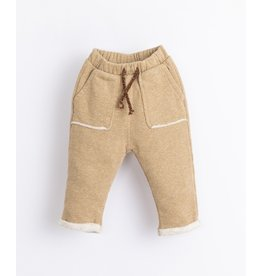Play Up Play Up Fleece Trousers Paper Melange