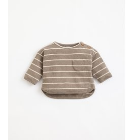 Play Up Play Up Farme Striped Jersey Sweater
