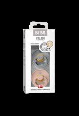 BIBS BIBS Fopspeen 2-pack Cloud/Blush maat 1