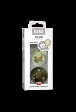 BIBS BIBS Fopspeen 2-pack Sage/Hunter Green maat 3