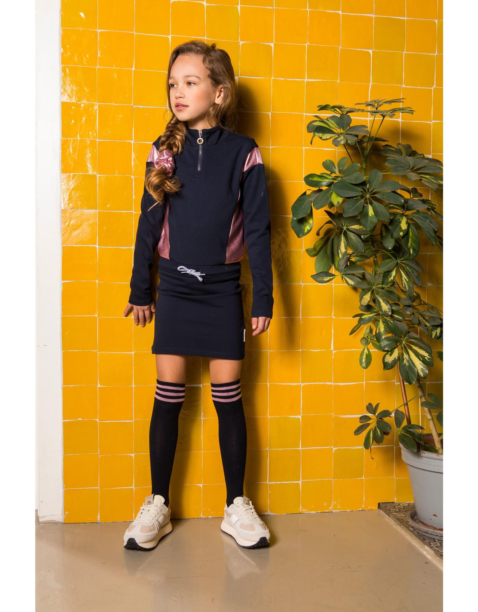 B.Nosy B.Nosy Girls Colorblock Sweat Dress Ink Blue