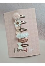 Lobster Love Lobster Love Haarspeldjes 5cm 'Beautiful Rosegold' 6 stuks