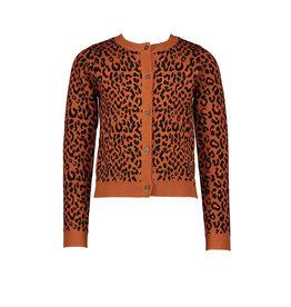 NONO NoNo Aysa Intarsia Leopard Caramel