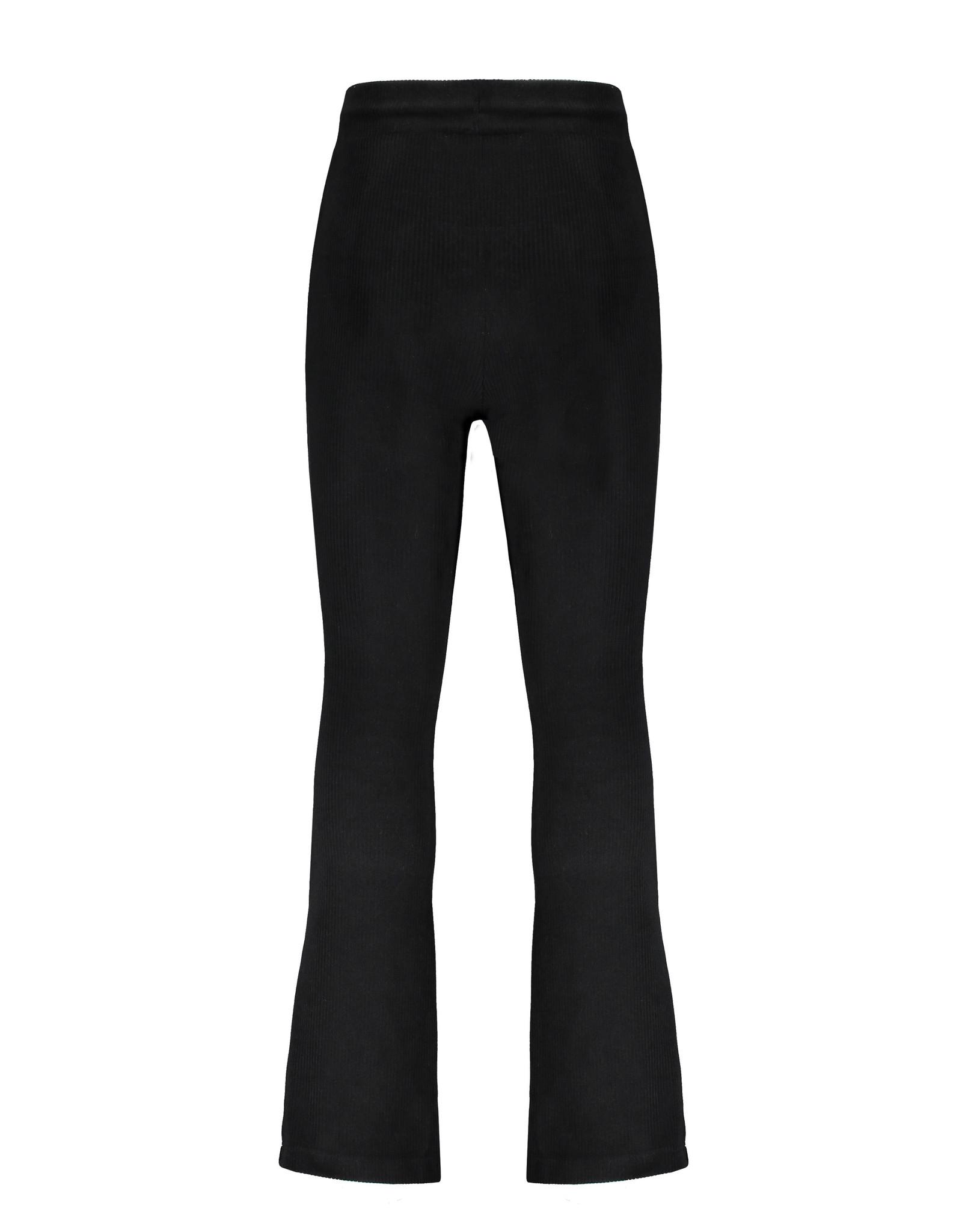 NONO NoNo Sam Velours Flared Pants Jet Black