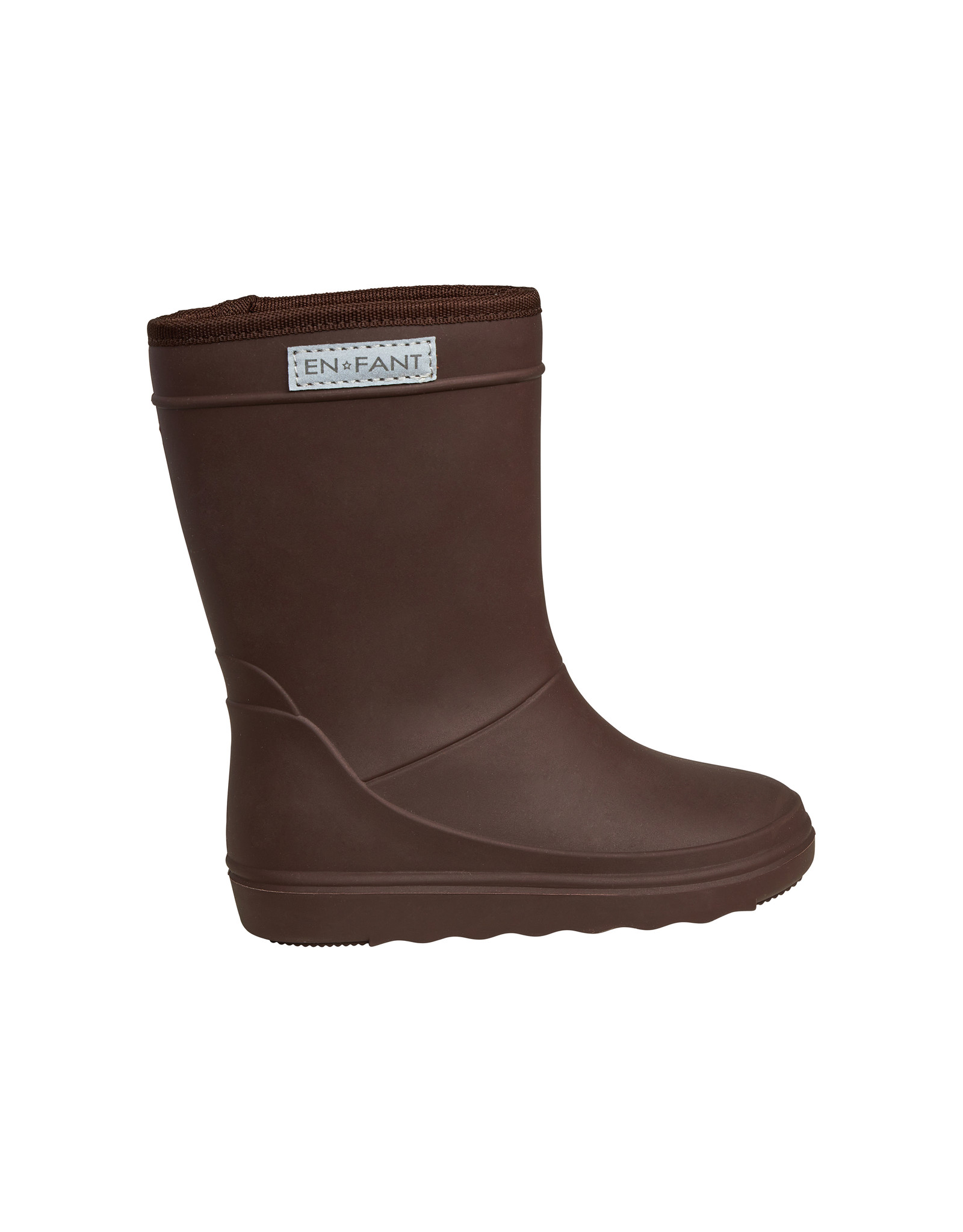EN FANT En Fant Thermo Boots Solid Dark Brown