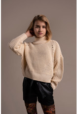 Street Called Madison Street Called Madison Luna Vegan Leather Shorts MAY BK