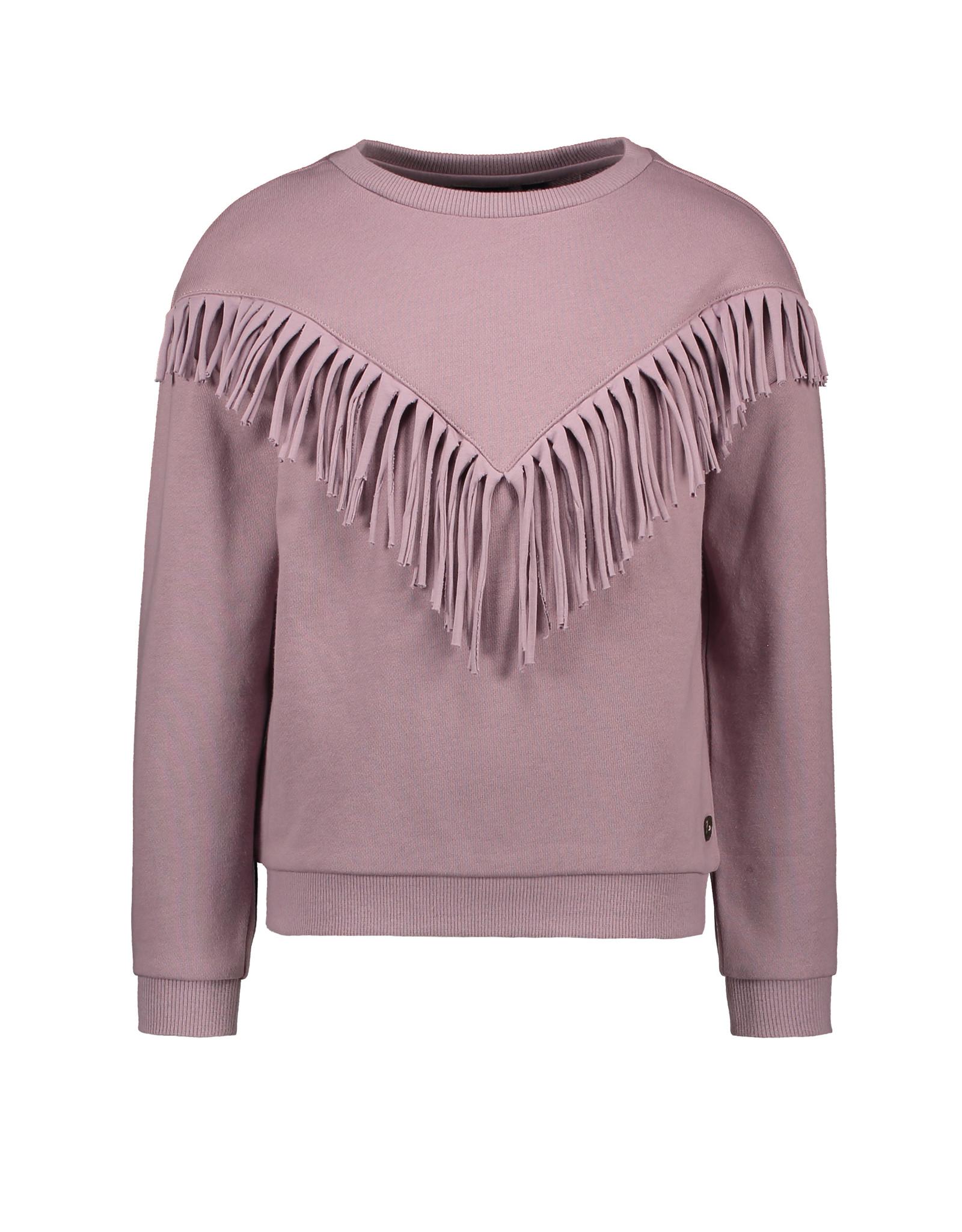 Like Flo Like Flo Girls Sweat Frill Sweater Lilac