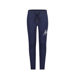 Malelions Malelions Junior Signature Trackpants Navy-White