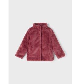 Name IT Name It Faux Fur Jacket PB Camp Deco Rose