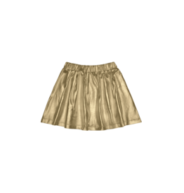 House of Jamie House of Jamie Metallic Skirt Gold