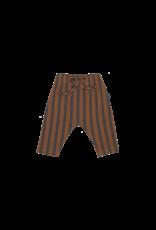 House of Jamie House Of Jamie Baby Pants Ginger Bread & Granite Stripes