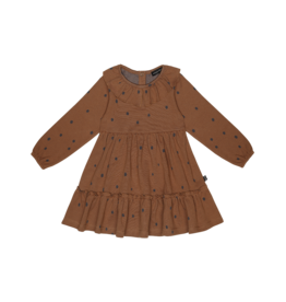 House of Jamie House Of Jamie Layer Dress Ginger Bread Dots