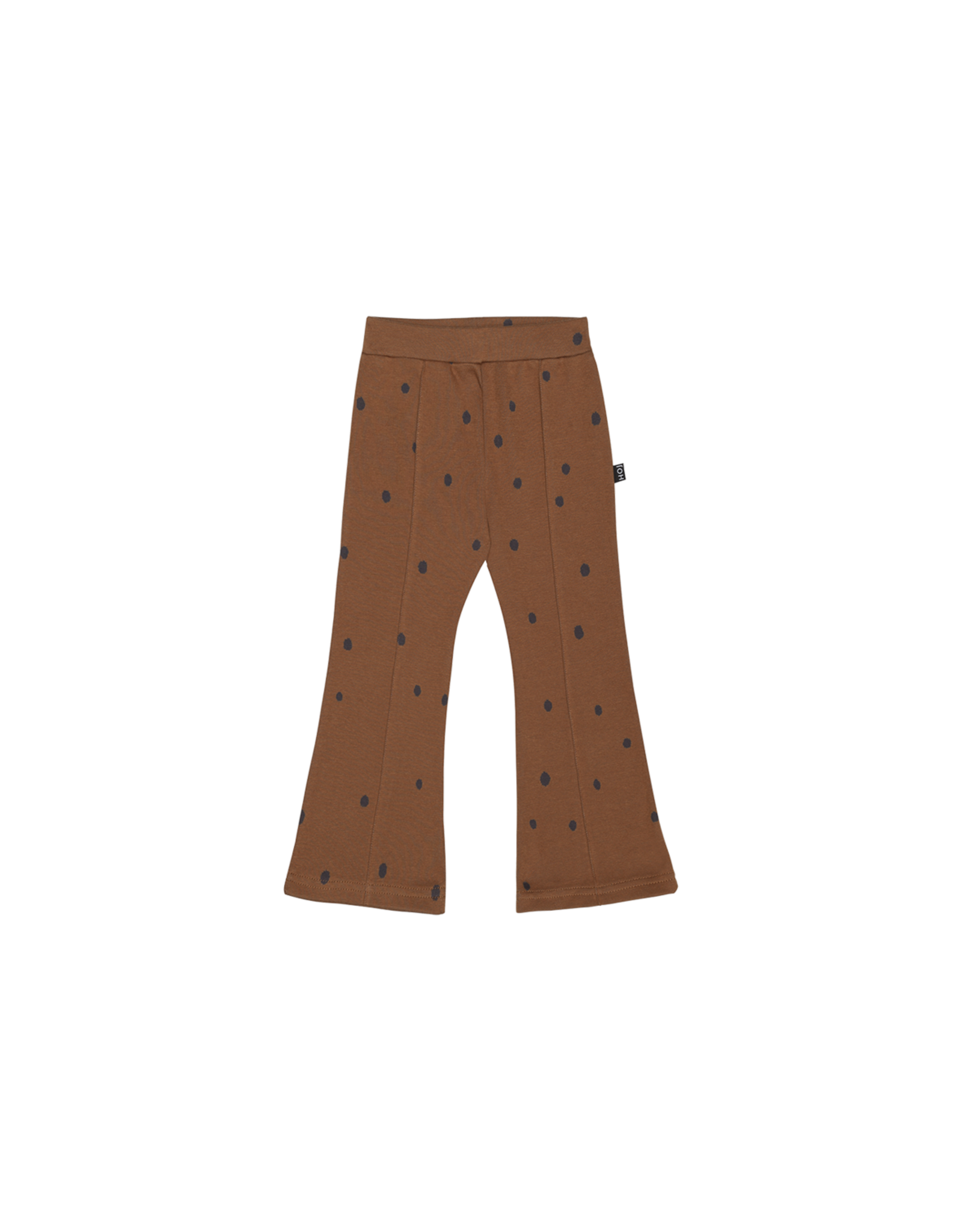 House of Jamie House Of Jamie Flared Pants Ginger Bread Dots