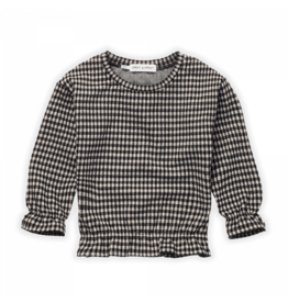 Sproet & Sprout Sproet & Sprout Sweatshirt Ruffle Block Check