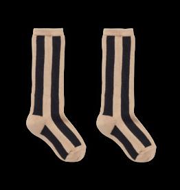 Sproet & Sprout Sproet & Sprout Socks Stripe Nougat