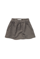 Sproet & Sprout Sproet & Sprout Skirt Block Check Black