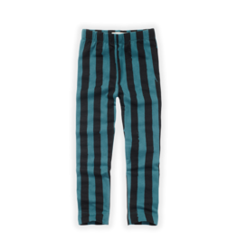 Sproet & Sprout Sproet & Sprout Legging Painted Stripe Pine Green