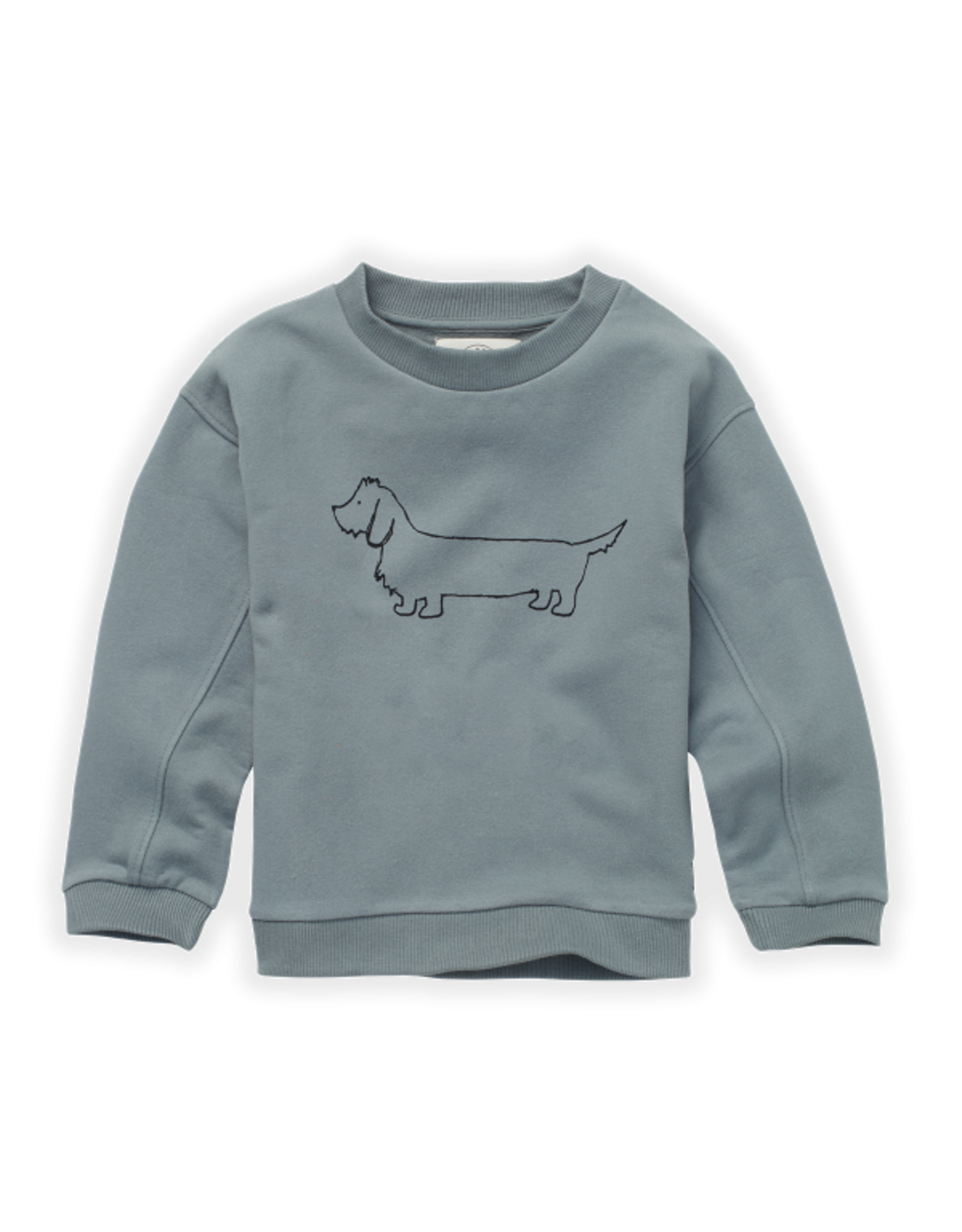 Sproet & Sprout Sproet & Sprout Sweatshirt Sausage Dog Lake Blue