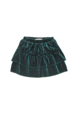 Sproet & Sprout Sproet & Sprout Skirt Velvet Pleats Pine Green