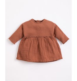 Play Up Play Up Mixture Dress with opening at the back Sanguine