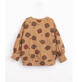 Play Up Play Up Jersey Longsleeve with persimmon print Paper