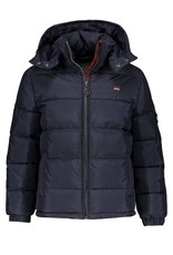 Red & Blu Red & Blu Boys PP Down Quilted Jacket Navy