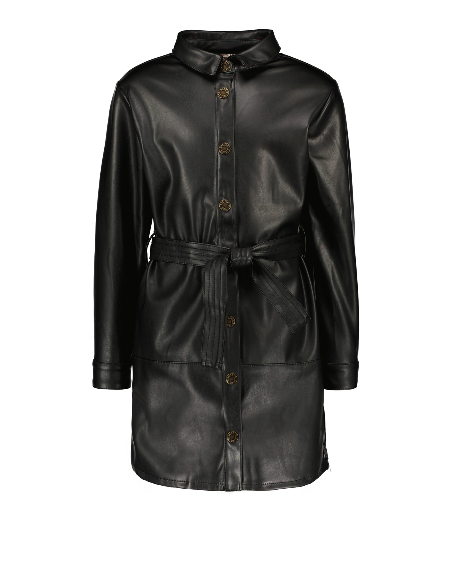 Street Called Madison Street Called Madison Luna Vegan Leather Dress Alix Black