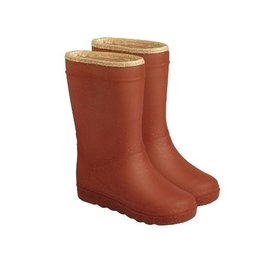 Enfant En Fant Thermo Boots Glitter Leather Brown