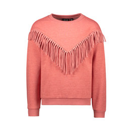 Like Flo Like Flo Girls Sweat Frill Sweater