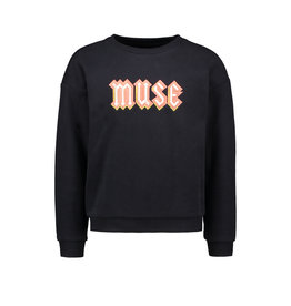 Like Flo Like Flo Girls Sweater MUSE Navy