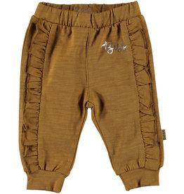 BESS Bess Pants Ruffles Brown