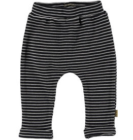 BESS Bess Pants Striped Anthracite