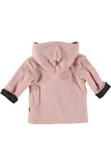 BESS Bess Cardigan Reversible Pink